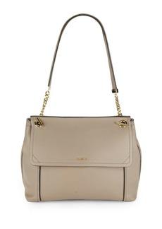 Calvin Klein Abbey Leather Shoulder Bag