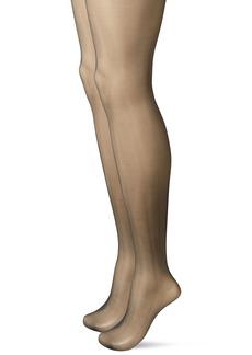 Calvin Klein alvin Klein Women's Perfect Essentials Sheer ontrol Top Pantyhose 2 Pair Pack