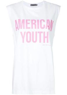 Calvin Klein American youth printed T-shirt