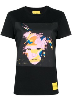 Calvin Klein Andy Warhol camouflage print T-shirt