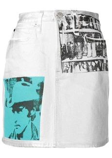 Calvin Klein Andy Warhol photo art skirt