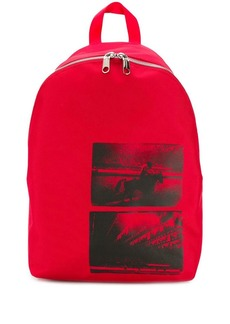 Calvin Klein Andy Warhol photographic print backpack