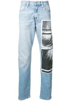 Calvin Klein Andy Warhol print jeans