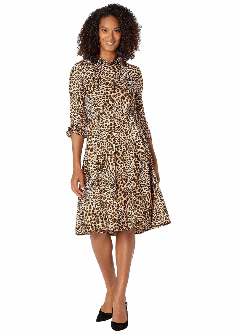 Calvin Klein Animal Print Shirtdress