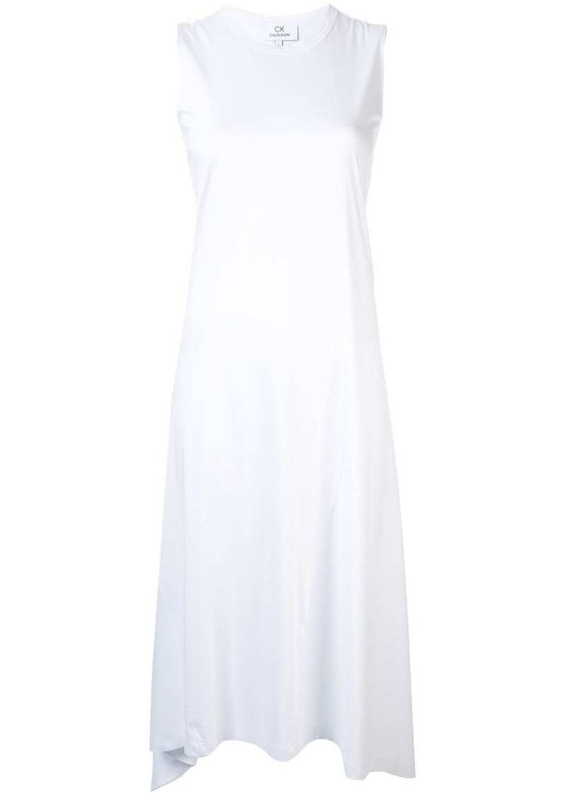 Calvin Klein asymmetric hem dress