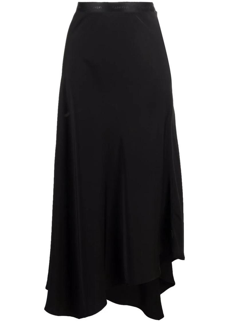 Calvin Klein asymmetric-hem skirt