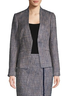 Calvin Klein Asymmetric Tweed Jacket