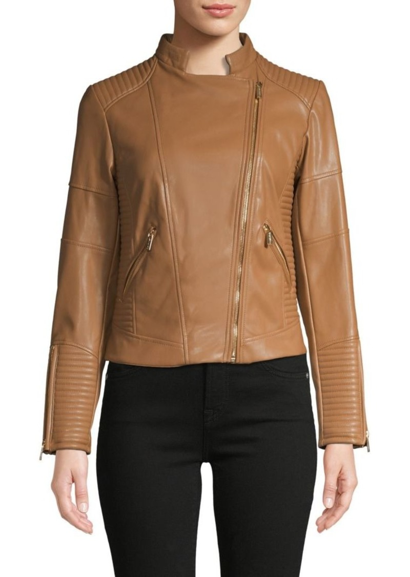 Calvin Klein Asymmetrical Zip Moto Jacket