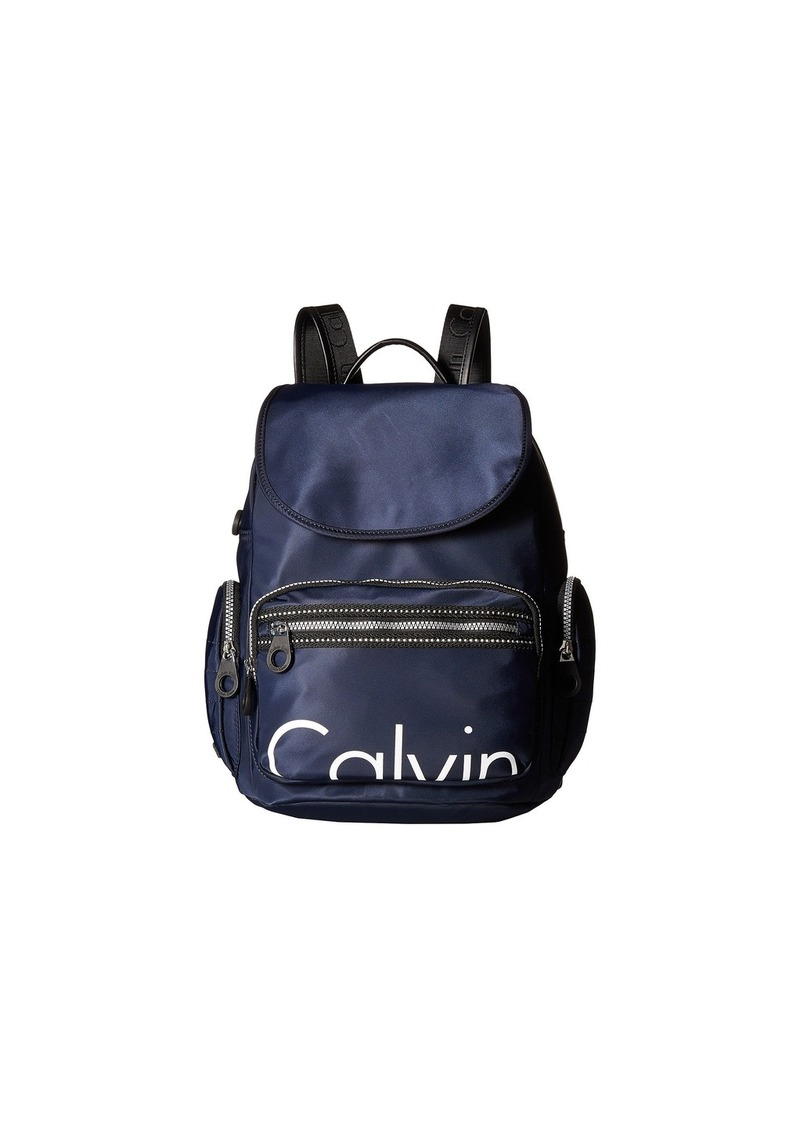 11f3e3fa1e7 Calvin Klein Athleisure Nylon Calvin Backpack | Handbags