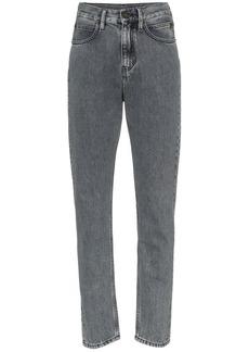 Calvin Klein Back patch slim leg jeans