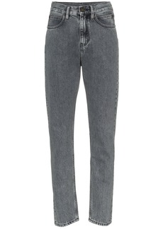 Calvin Klein Back patch slim leg jeans