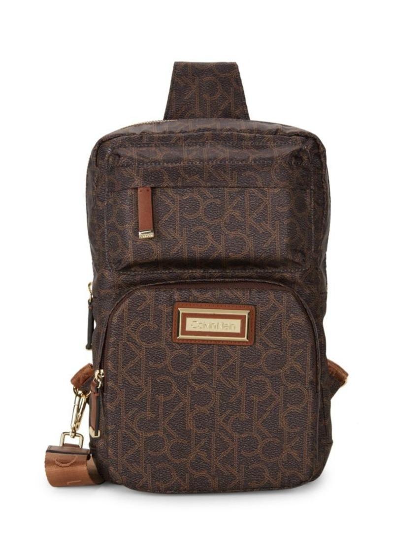 Calvin Klein Belfast Monogram Sling Backpack