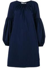 Calvin Klein bell-sleeved dress
