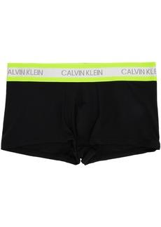 Calvin Klein Black & Yellow Hazard Micro Low-Rise Boxer Briefs