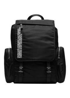 Calvin Klein black branded backpack