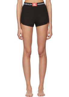 Calvin Klein Black Mesh Sleepwear Shorts