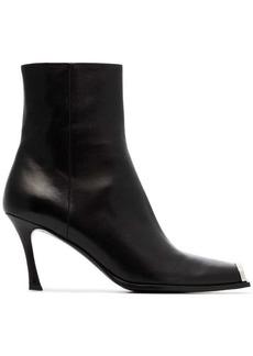 Calvin Klein black winsaz 80 leather boots