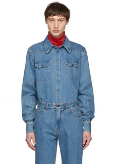 Calvin Klein Blue Denim Shirt