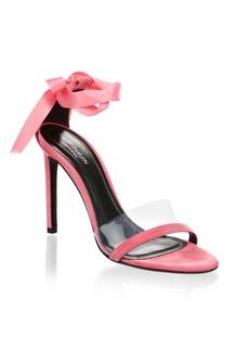 Calvin Klein Bow Suede Stiletto Pumps