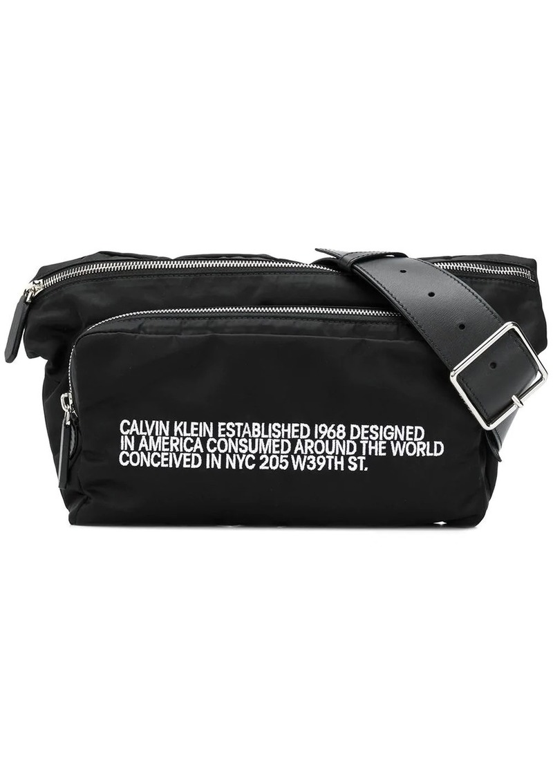 Calvin Klein branded belt bag