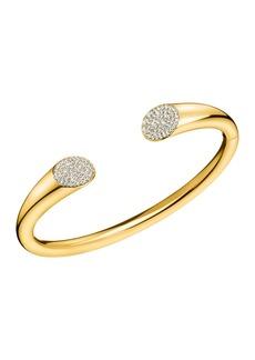Calvin Klein Brilliant Swarovski Crystal Embellished Bangle Bracelet
