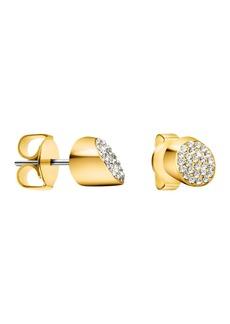 Calvin Klein Brilliant Swarovski Crystal Stud Earrings