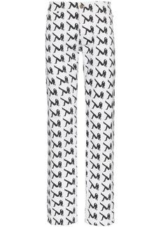 Calvin Klein Brooke print jeans