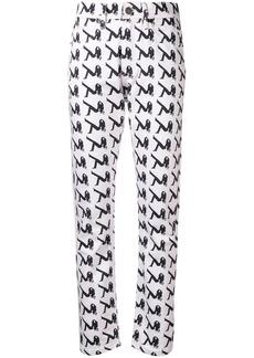 Calvin Klein Brooke printed jeans