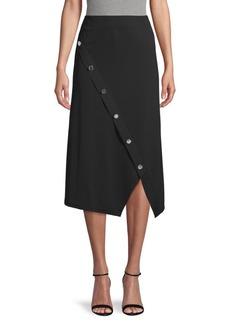 Calvin Klein Buttoned Stretch Skirt