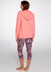 Calvin Klein + Performance Galaxy Print Cropped Leggings