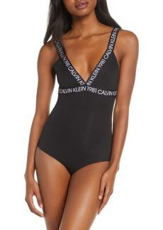 Calvin Klein 1981 Bold Bodysuit
