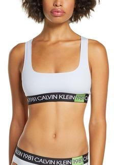 Calvin Klein 1981 Bold Bralette