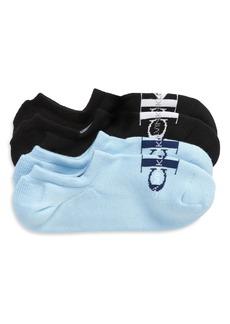 Calvin Klein 2-Pack Monogram No-Show Socks