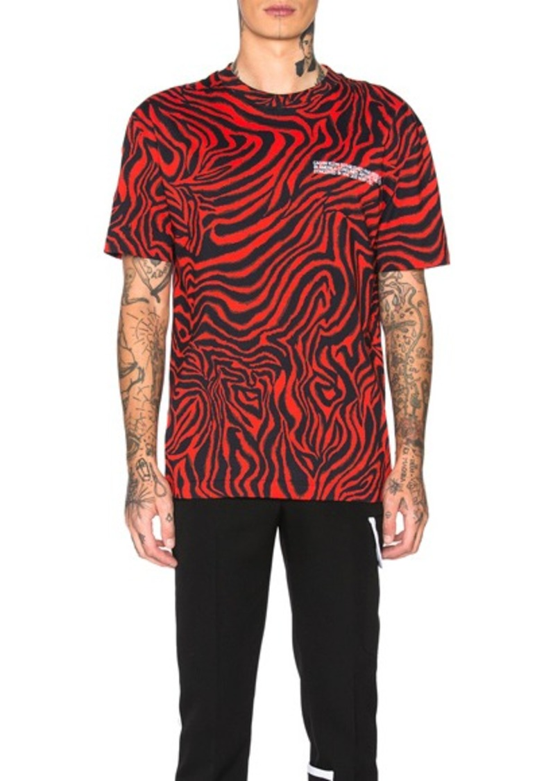 CALVIN KLEIN 205W39NYC All Over Print Tee