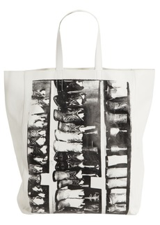 CALVIN KLEIN 205W39NYC x Andy Warhol Foundation Boots Leather Tote