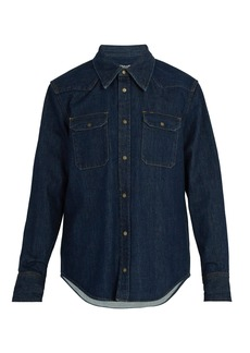 CALVIN KLEIN 205W39NYC Archive Western embroidered denim shirt