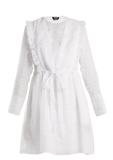CALVIN KLEIN 205W39NYC Broderie-anglaise cotton-organza dress