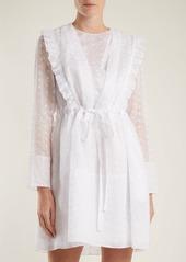 CALVIN KLEIN 205W39NYC Broderie-anglaise cotton-organza dress