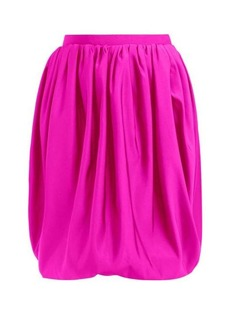 Calvin Klein Bubble silk-faille skirt