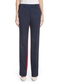 CALVIN KLEIN 205W39NYC Colorblock Wool Trousers