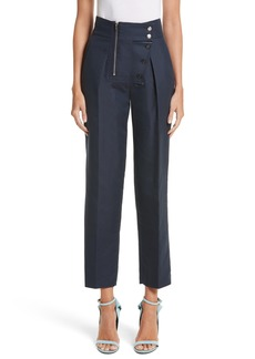 CALVIN KLEIN 205W39NYC Cotton & Silk Sailor Pants