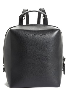 CALVIN KLEIN 205W39NYC Cube Leather Backpack