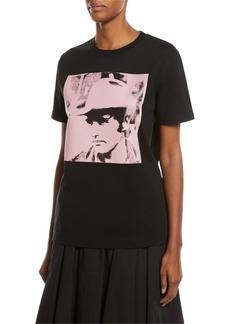 CALVIN KLEIN 205W39NYC Dennis Hopper Short-Sleeve Round-Neck Oversized T-Shirt