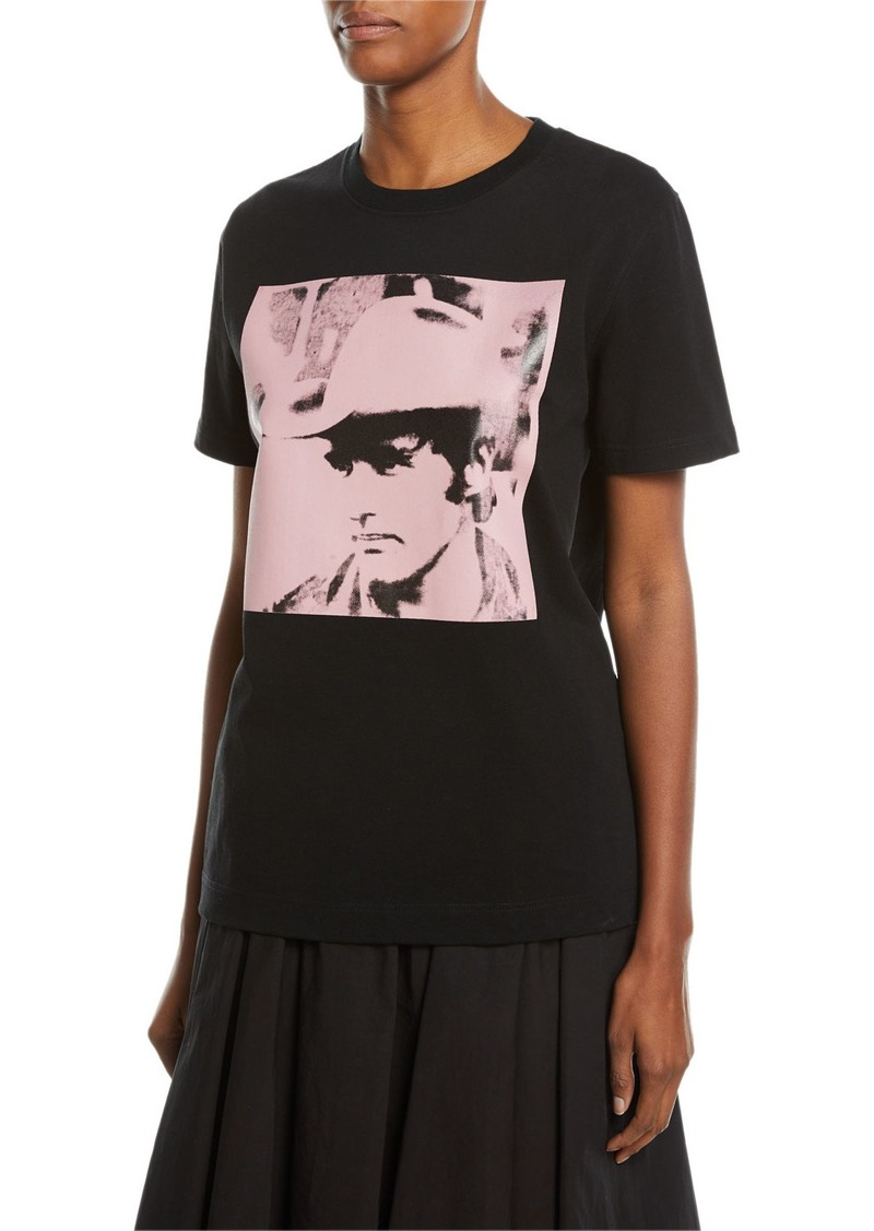 CALVIN KLEIN 205W39NYC Dennis Hopper Short-Sleeve Round-Neck Oversized T-Shirt