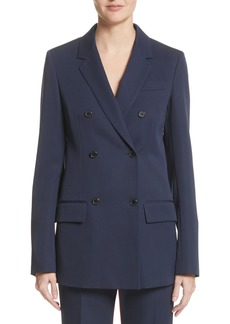 CALVIN KLEIN 205W39NYC Double Breasted Wool Blazer
