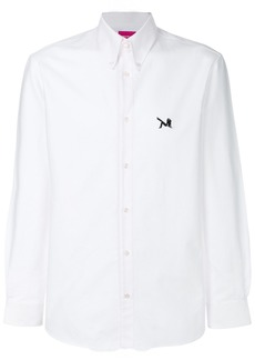 Calvin Klein embroidered patch shirt