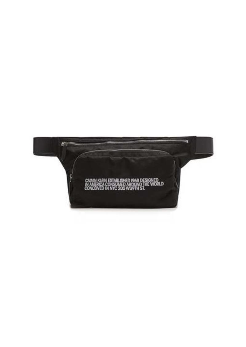 Calvin Klein Embroidered technical belt bag