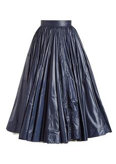 CALVIN KLEIN 205W39NYC Extra-light flared midi skirt