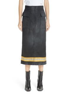 CALVIN KLEIN 205W39NYC Fireman Skirt