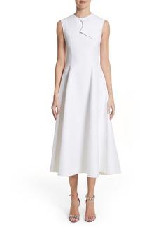 Calvin Klein 205W39NYC Flap Detail A-Line Dress